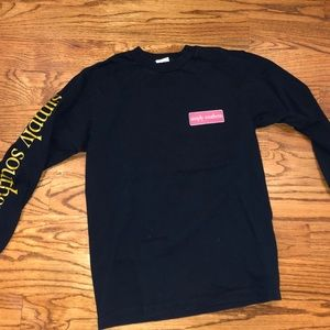 long sleeve simply southern top
